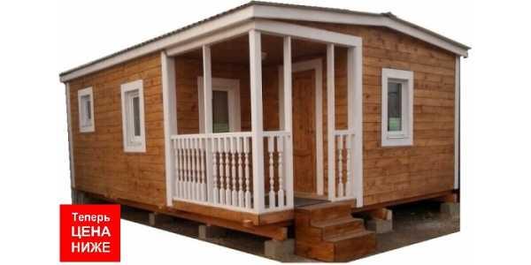 Садовый домик 5х6,9м